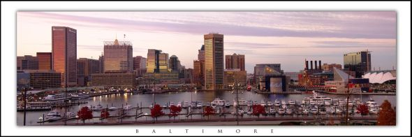 2337 2339 baltimore skyline sunset BT RS