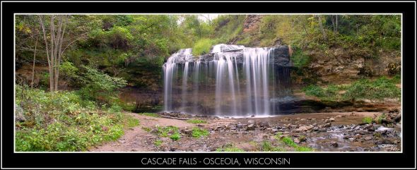 cascade falls pano osceloa BT